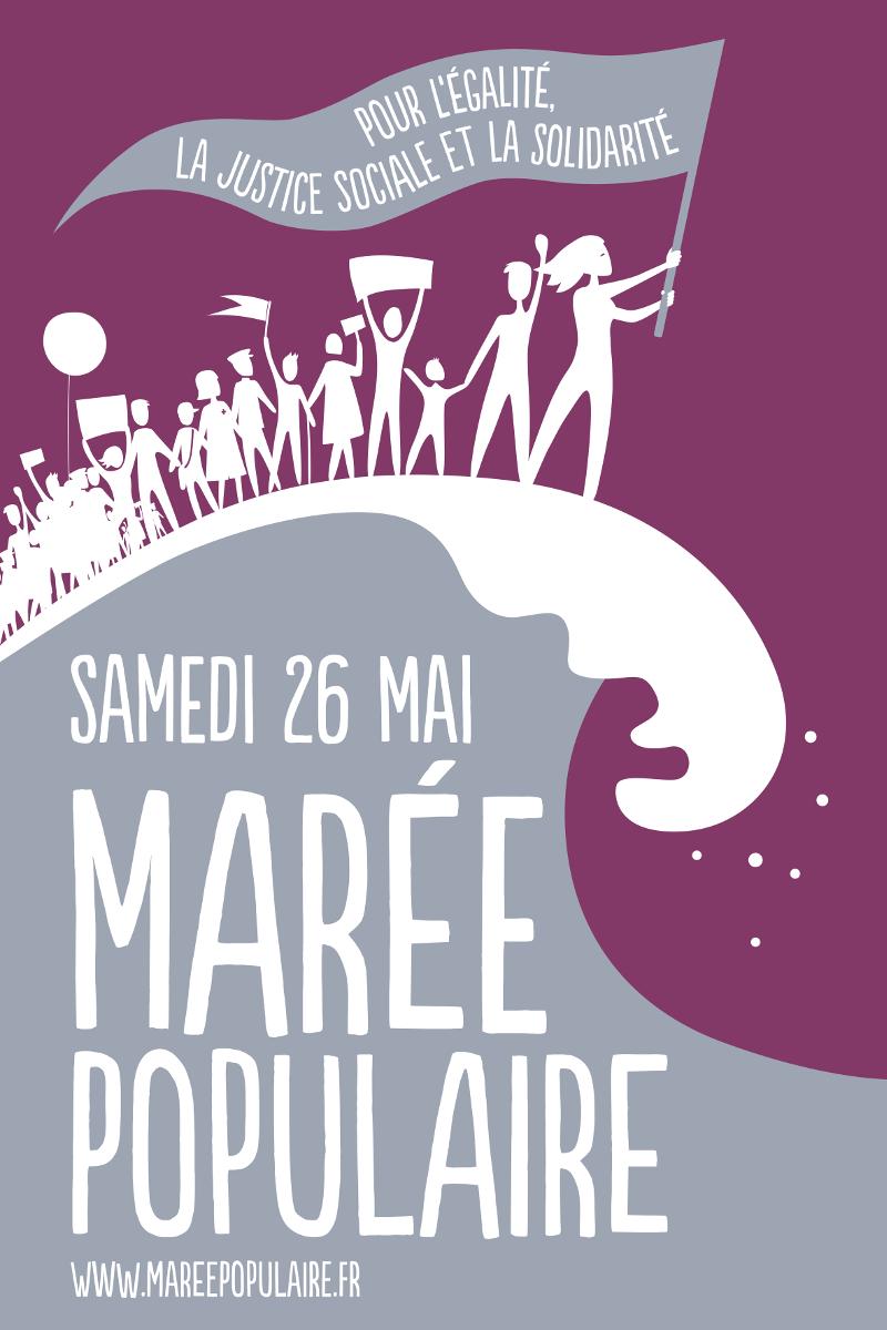 La festa a Macron e la marea popolare