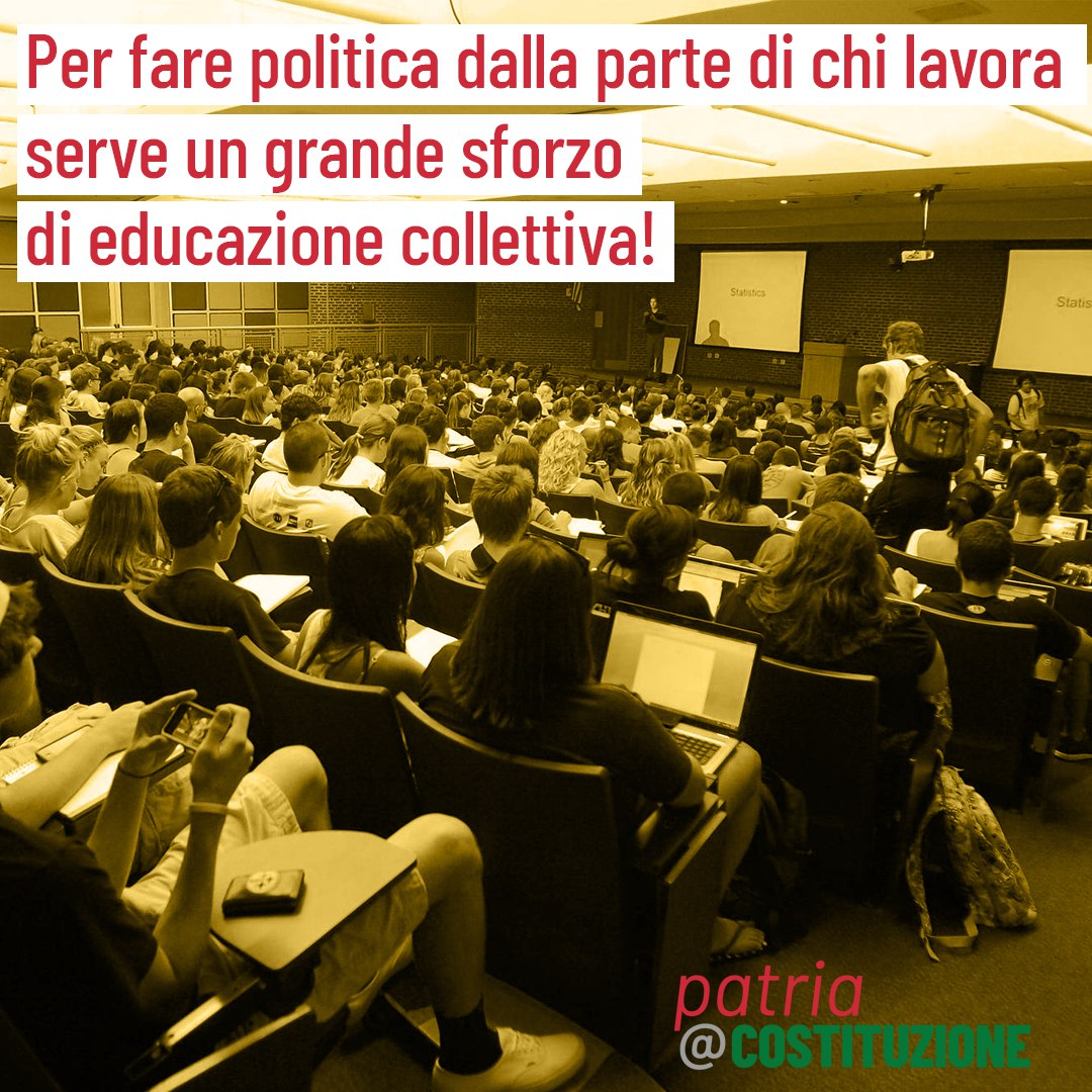 Ritorno alla politica. Il programma della scuola estiva di Senso Comune e Patria e Costituzione
